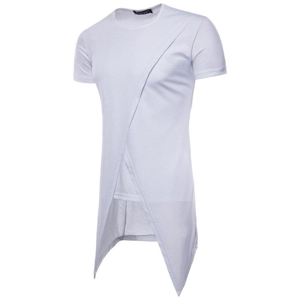 3a12bcbeb Tyga Swag camiseta T camisa de los hombres 2019 hombres Irregular de manga  corta traje camiseta Harajuku Streetwear Tee camisa hombre Hip Hop top