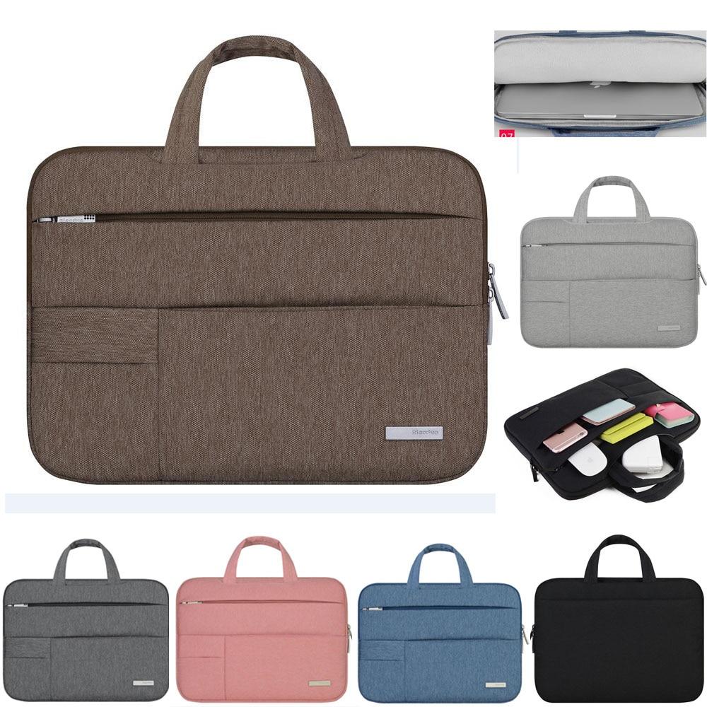 11 12 13 14 15.4 15.6 Uomo Si Sentiva Notebook Laptop Bag Sleeve Cassa del sacchetto Per Acer Dell HP Asus Lenovo Macbook Pro Reitina Aria Xiaomi