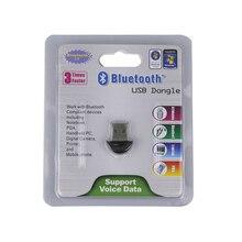 Новое прибытие! Bluetooth 2.0 USB 2.0 Dongle Адаптер Беспроводной Мини V2.0 EDR Bluetooth Приемник Для ПК Ноутбук Гарнитура Paspberry Пи