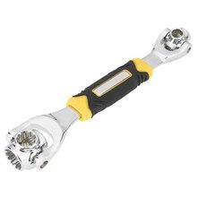 Горячие 48 в 1 Тигр гаечный ключ инструменты гнездо работает с сплайн болты Torx 360 градусов 6-точка шестиугольники разъем ремонт автомобилей Инструменты