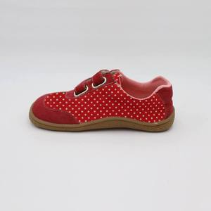 Image 5 - Kids 2020 Toddler Baby Genuine Leather + Fabric Shoe Girls Flower Sneaker Kid Child Causal Trainer Sequin Flat Barefoot