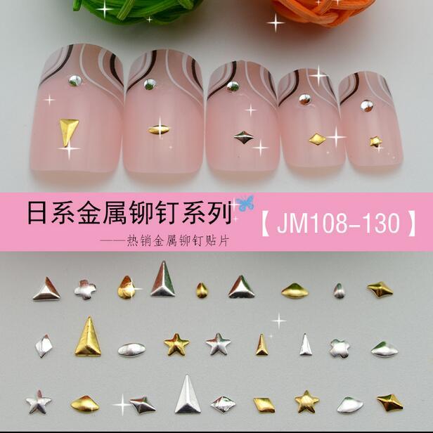 5000pcslot 2016 New Nail Art Metal Stud Japanese Cheap Nail Art