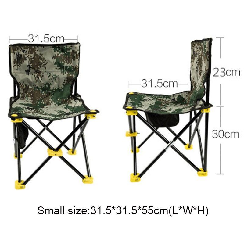Camping Ligera De Pesca Bolsa Paño Picnic Asiento Oxford Portátil Silla Playa Al Con Libre Aire Plegable DHEW9Y2I