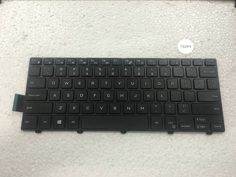 Original New US English black keyboard for Dell Inspiron 14-3000 series 3441 3442 3443