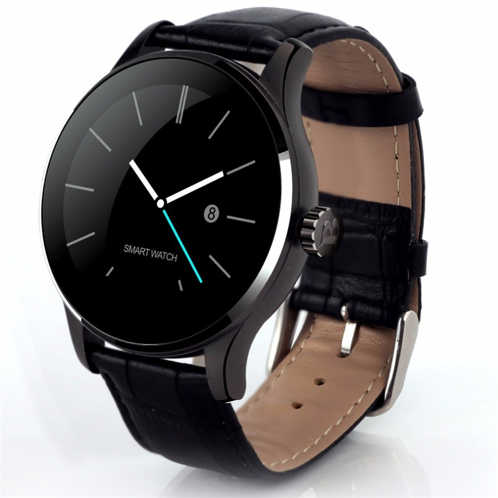 Smarcent K88H Smart Watch Track Wristwatch Bluetooth Heart Rate Monitor Pedometer Dialing Smartwatch Phone For Android IOS A0