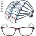 Atacado 8022 acetato de full aro flexível dobradiça forma sólida dupla bicolor caminhantes armações de óculos óptica frete grátis