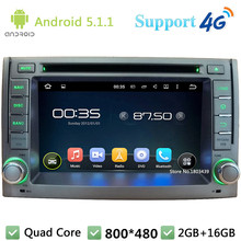 Quad Core 2Din Android 5.1.1 Car Multimedia DVD Player Radio Stereo USB BT FM DAB+ 3G/4G WIFI GPS Map For Hyundai H1 2011-2012