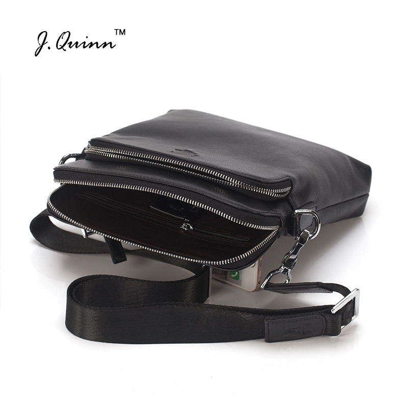 Подробнее о J.Quinn New Men Shoulder Bags Top Cowhide Genuine Leather Male Bag Single Slim Business Travel Ipad Small Crossbody Mens Bag top genuine cowhide leather men bags male small messenger bag fashion crossbody shoulder bag men s vintage travel new bag bolsa