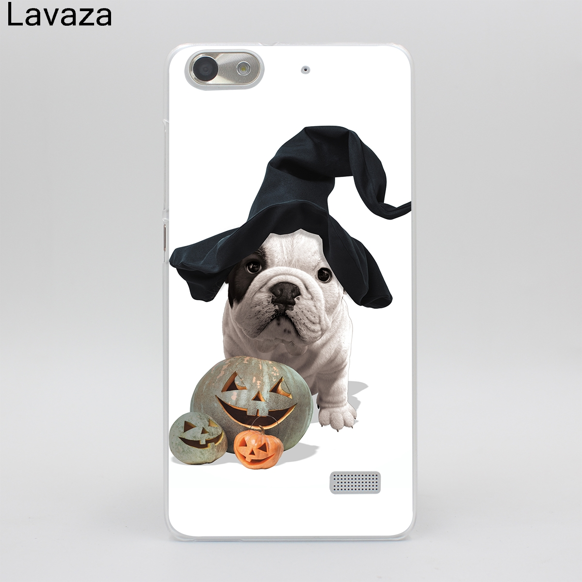 Lavaza French Bulldog Hard Case for Huawei P6 P7 P8 P9 P10 Lite Plus Y3 Y5 Y6 Y7 P8 Lite P9 Lite 2017 G7