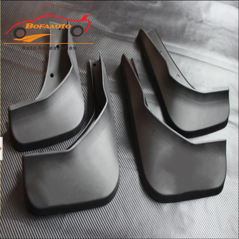 Car Accessories For Ford Kuga Mud Flaps Splash Guards Mud Guards Splash Guard Mudguards Mudguard 2013 2014 2016 Black 4pcs/Set free shipping 2013 2014 infiniti jx35 qx60 high quality soft plastic mud flaps splash guard