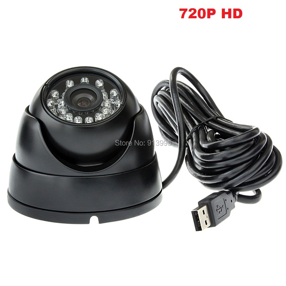 ФОТО 720P OV9712 H.264 mini  dome Webcam ir led day night vision waterproof surveillance security cameras for the home,offices,store