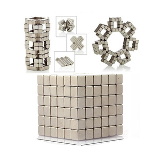 Magnetic 216pcs Magnetic Magic Cube Toys Mini Magnet Balls Puzzle Metal Beads DIY Assemble Magcube Educational Kids Adults Toy