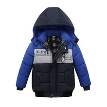 Winter Warm Child Coat Children Outerwear Kids Clothes Windproof Baby Boys Girls Jackets Clothing For 1-4 Years Old