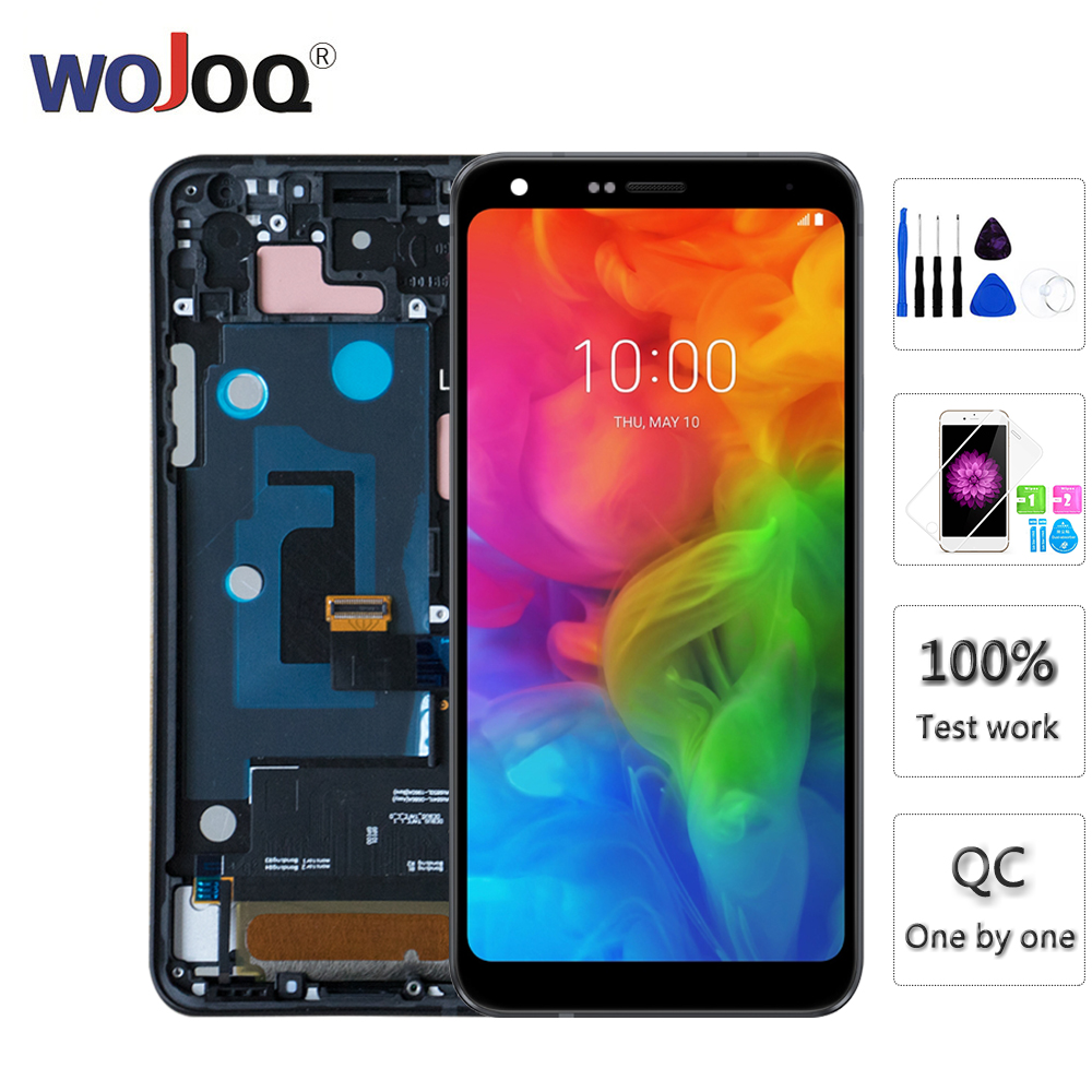 ORIGINAL IPS Screen For LG Q7 Q610 Q610YB LCD Display Touch Screen with Frame Digitizer Assemble Q7 Replacement Display ScreenORIGINAL IPS Screen For LG Q7 Q610 Q610YB LCD Display Touch Screen with Frame Digitizer Assemble Q7 Replacement Display Screen
