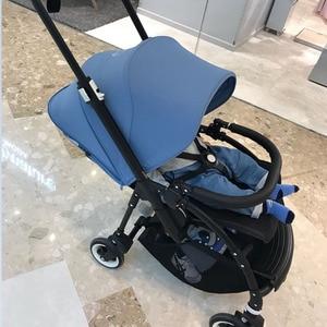 Image 5 - Бампер для детской коляски, подлокотник из искусственной кожи и ткани Оксфорд для Bugaboo Bee3, поручни для коляски, аксессуары для детской коляски