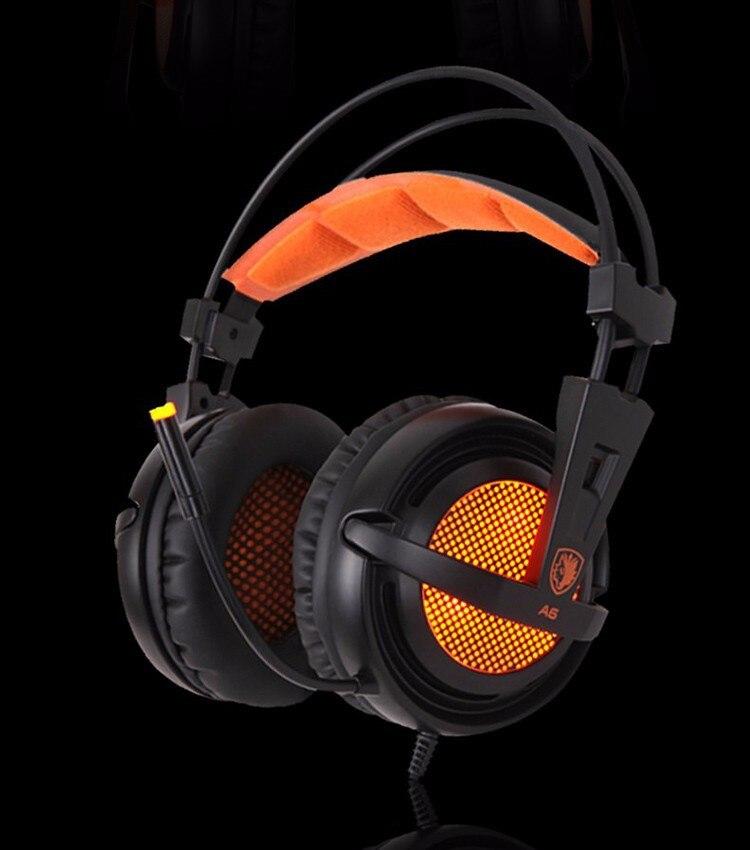 Gamer Stereo Headset dengan 10