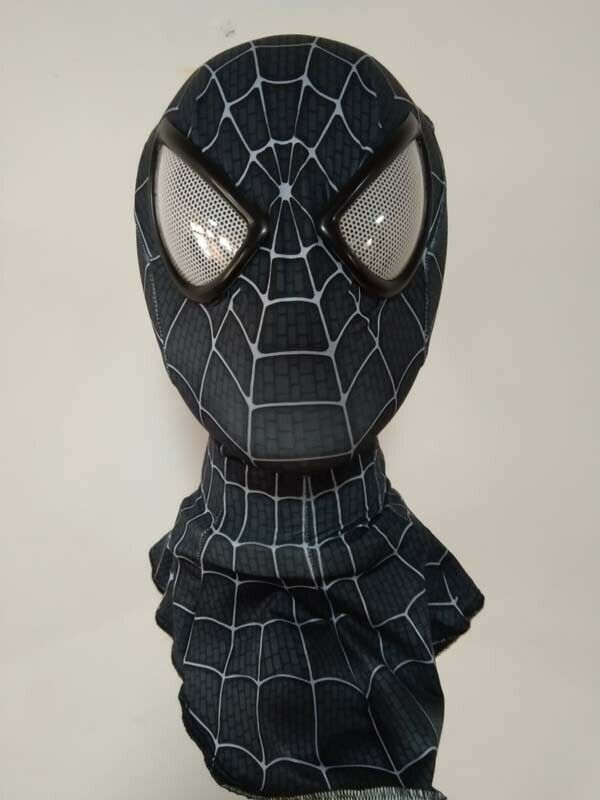 Amazing Spiderman Black&white Mask Adult Unisex Halloween Party Accessory Masque Spider-Man Cosplay Masks Drop Ship