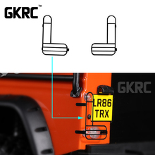 1 Pair Metal Protective Lampshade For 1/10 RC Crawler Car Defender Traxxas TRX4