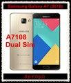 "Samsung Galaxy A7 2016 A7108 Original Unlocked 4G LTE Android Mobile Phone Dual Sim Octa Core 5.5"" 13MP RAM 3GB ROM 32GB 3300mAh"