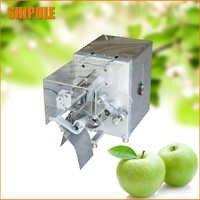 Nuevo pelador comercial de manzana de acero inoxidable cortador rebanador despepitador peleles núcleos rebanadas Apple Cuchillo de pelado de frutas herramienta de cocina