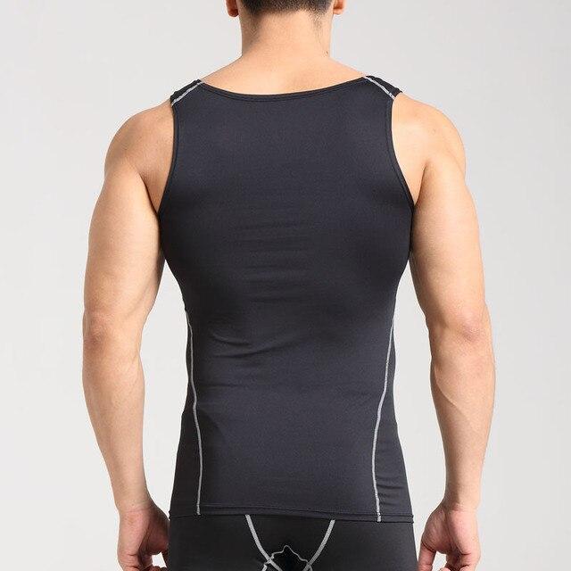 Men Running Vests Weight Loss Mens Body Building Shaper Vest Trimmer Tummy Shirt Hot Girdle breathable 2