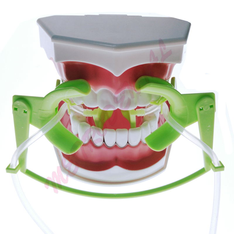 Dental Oral Dry Field System Nola Retractor Lip Cheek Retractor and Mouth Opener with Suction System Size Small for Kid deasin high quality 1pc dental oral photographic orthodontic implant lip cheek retractor opener tool