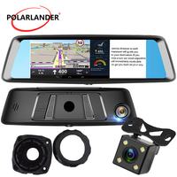 A8 7 DVR Touch Screen Rearview Mirror 4G Android WiFi GPS MP5/MP4/RMVB/Flash G SENSOR Bluetooth Camera Video Drive Recorder