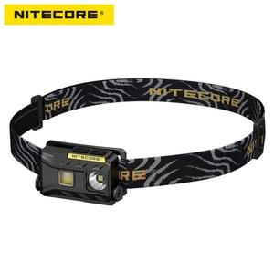 Image 1 - NiteCore NU25 كري XP G2 S3 الأبيض + CRI + الأحمر USB قابلة للشحن كشافات أمامية