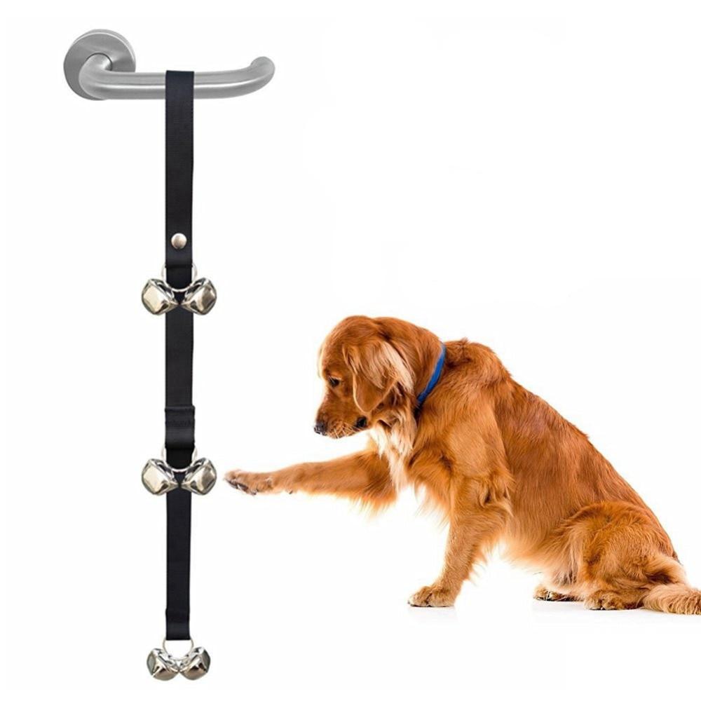 Dog Toy Interactive Training Potty Door Bells Chew Toy Housetraining