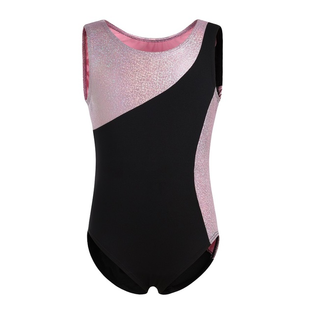 3d65fcfbb Girls Ballet Tank Leotard Toddler Gymnastics Dance Dresses Shiny ...