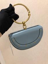 FOXER 2019 Luxury Women Bag Brand Shoulder Bag Half Moon Handbag Fashion Crossbody Bag Genuine Leather Purse Ring Ladies Bag