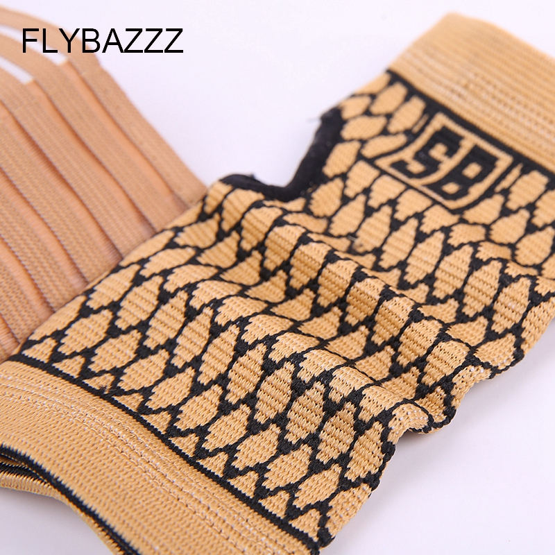 FLYBAZZZ 1PCS High Elastic Bandage Fitness Yoga Hand Palm Brace Wrist Support Crossfit Powerlifting Gym Wraps Palm Pad Protector