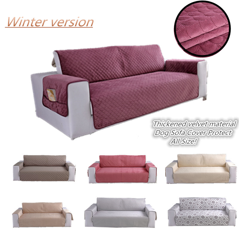 Quality Thickened Plus Velvet Sofa