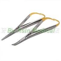2018 new dental Stainless Steel Hemostatic Forceps Needle holder Pet plucking pliers dentist tools