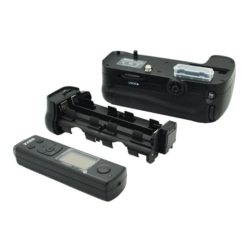Meike MK-DR7100 wireless Remote Control Battery Grip For Nikon D7100 D7200 meike vertical battery grip for nikon d7100 d7200 as mb d15 2 en el15 dual charger