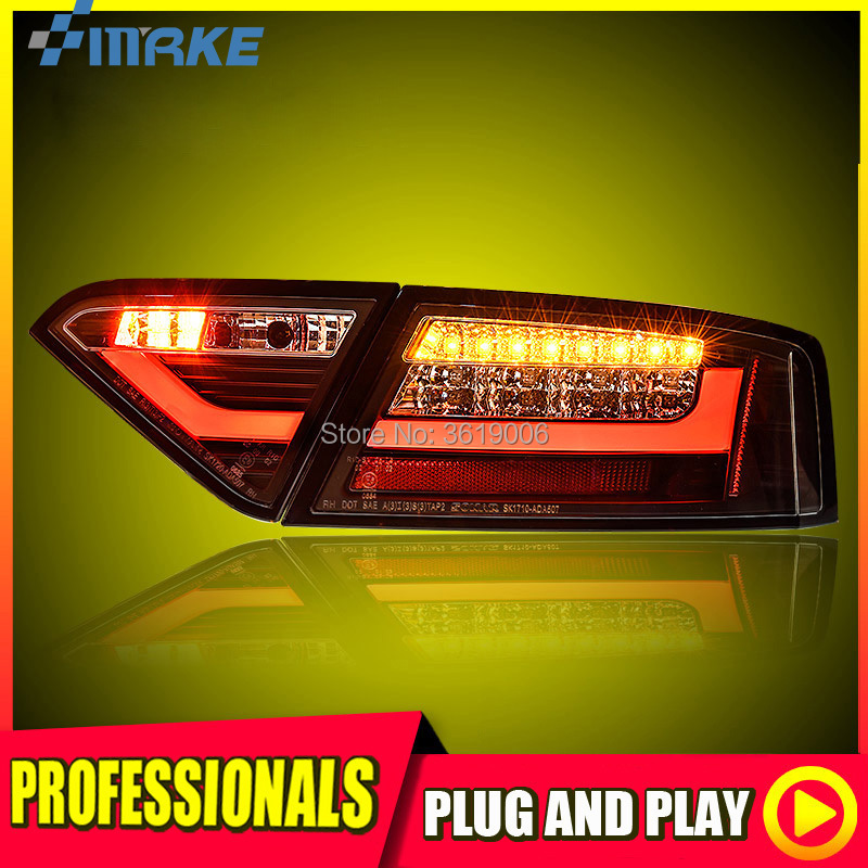 Flight Tracker D_yl Car Styling For Audi A6l Taillights 2009-2012 Audi A6l Led Tail Lamp Rear Lamp Drl+brake+park+signal Led Light Automobiles & Motorcycles