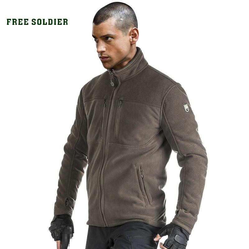 Prix pour FREE SOLDIER camping En Plein Air randonnée tactique à manches longues sweat nouveau modèle de résistant à l'usure, style militaire veste/manteau