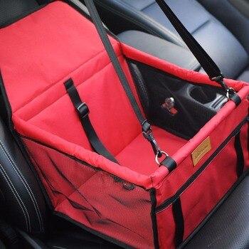 Dog Carrier Travel กระเป๋าถือสำหรับสุนัขรถฝาครอบที่นั่งสัตว์เลี้ยง Carrier ด้านหลังที่นั่งตะกร้าสุนัขที่...