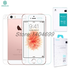 Nillkin 9H 2.5D Amazing H+ PE+ Anti-Explosion Screen Protector Tempered Glass For Apple iPhone SE 5S / 5 Gift Back Film