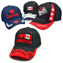 New men Canada cap 3D embroidery Canada Maple leaf baseball caps cotton adjustable snapback hat fashion caps casual hats 2017 new arrival high quality snapback cap cotton baseball cap true north canada maple embroidery hat for men women unisex caps