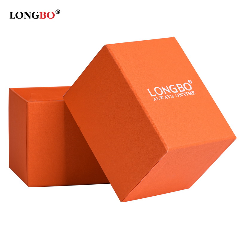 LONGBO Brand Fashion Watches Yellow Gifts Boxes Presents Watch Gift Box 800001C