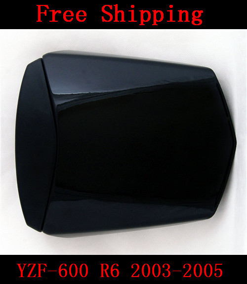 For Yamaha YZF 600 R6 2003 2004 2005 motorbike seat cover Motorcycle Black fairing rear sear cowl cover Free Shipping for suzuki gsxr 600 gsx r 750 2004 2005 k4 motorbike seat cover brand new motorcycle carbon fairing rear sear cowl cover