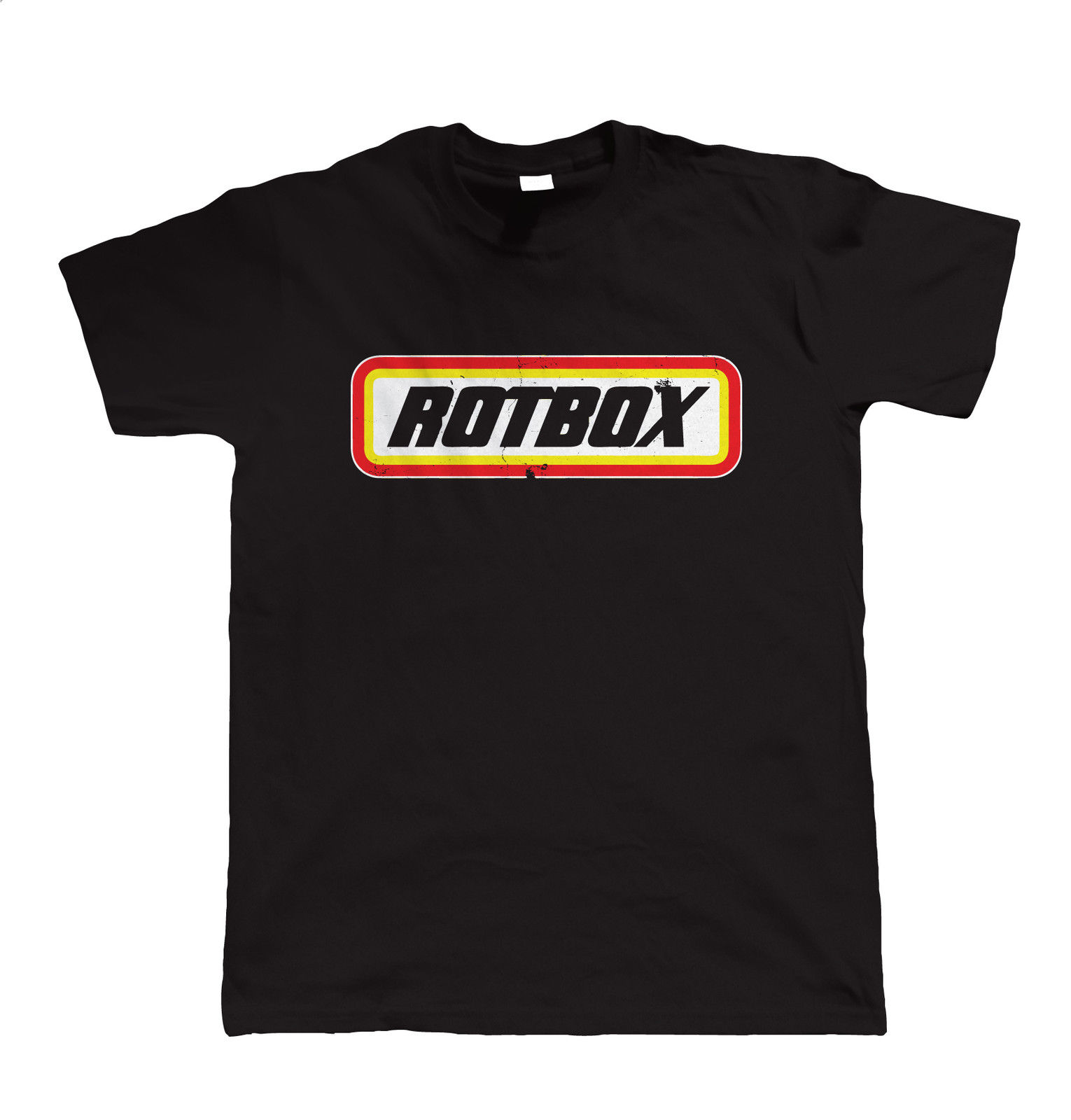 Rotbox, Mens Funny Car T Shirt - Escort Campervan Mechanic Gift for Him Dad