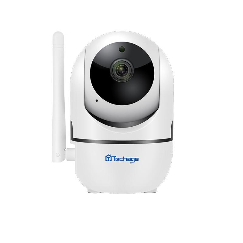 Techage 1080P 2MP Wireless Auto Tracking Cloud Storage Camera 720P WiFi Audio Sound Card Record Baby Pet Monitor Surveillance