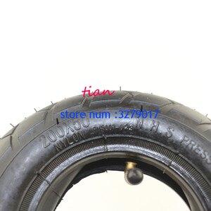 "Image 4 - Rueda para silla de ruedas (8 ""X 2""), ruedas de 200X50 (8 pulgadas) aptas para Scooter eléctrica o de gasolina y Scooter Eléctrico (tubo interno incluido)"