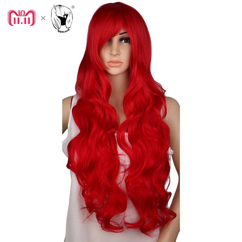 Synthetic None-lacewigs Honest Hairjoy Cosplay Party Wig Women Side Bangs 100cm Long Straight Synthetic Hair 22 Colors Available Online Discount Synthetic Wigs