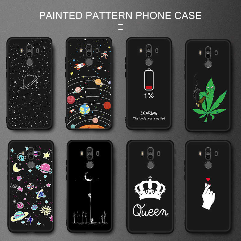 For Huawei P10 Mate 10 Lite Pro P Smart Plus Phone Case For Huawei Honor 8X Max 10 9 8 Lite Y9 2019 P8 P9 Lite 2017 Back Cover