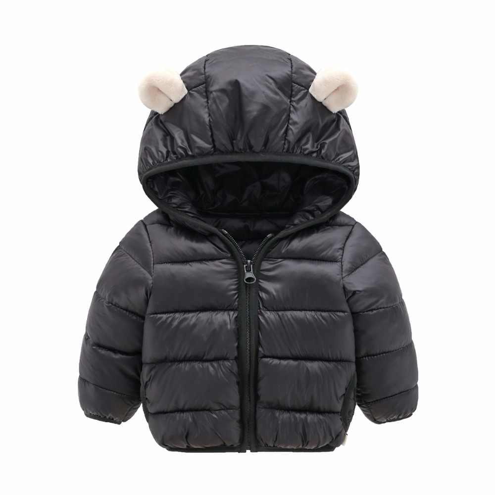 תינוק בני בנות מעיל 2020 סתיו חורף מעיל בנות מעיל ילדים חם ברדס הלבשה עליונה מעיל נערי מעיל ילדים בגדים