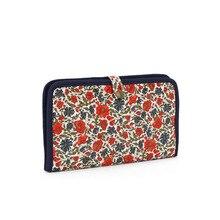 Purse Women Portable Canvas Make-up Bag Coin Purse Mini Flower Bag  Zipped Women wallets Phone Fashion New