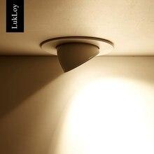 Светодиодный затемнения потолочный светильник 5 W 12 W 20 W 30 W Встраиваемые Светодиодный потолок пятно света 360 градусов Регулируемый AC110V 220 V потолочный светильник